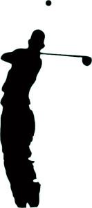 Tour Level Man silhouette
